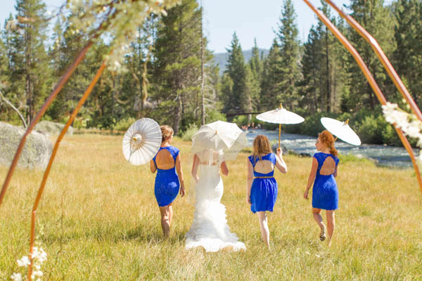 Lake Tahoe Riverfront Wedding