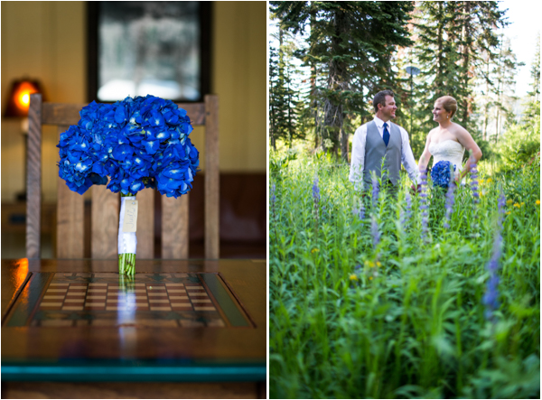blue color palette wedding