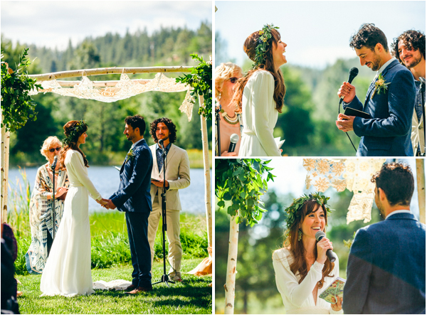Placerville wedding ceremony