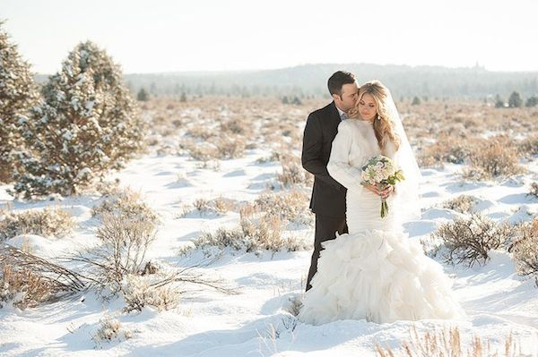 California Winter Wedding Dress Ideas Lake Tahoe