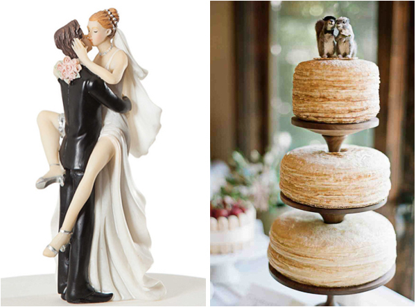 Quirky and unique wedding cake topper ideas lake tahoe inspiration brides etsy unique cake toppers 2 junglespirit