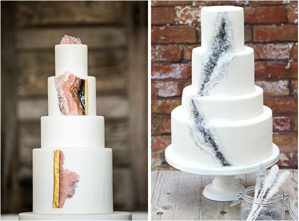 Geode Wedding Cake.Nature Inspired Geode Wedding Cakes Lake Tahoe Inspiration Boards