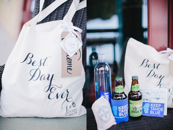 tahoe welcome bag