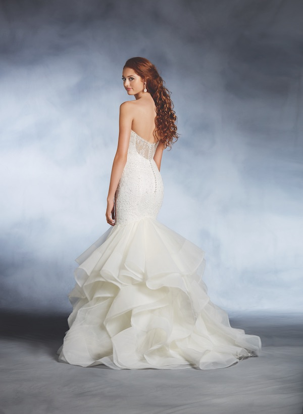 Alfred angelo unveils 2017 disney fairy tale weddings for Fairytale inspired wedding dresses