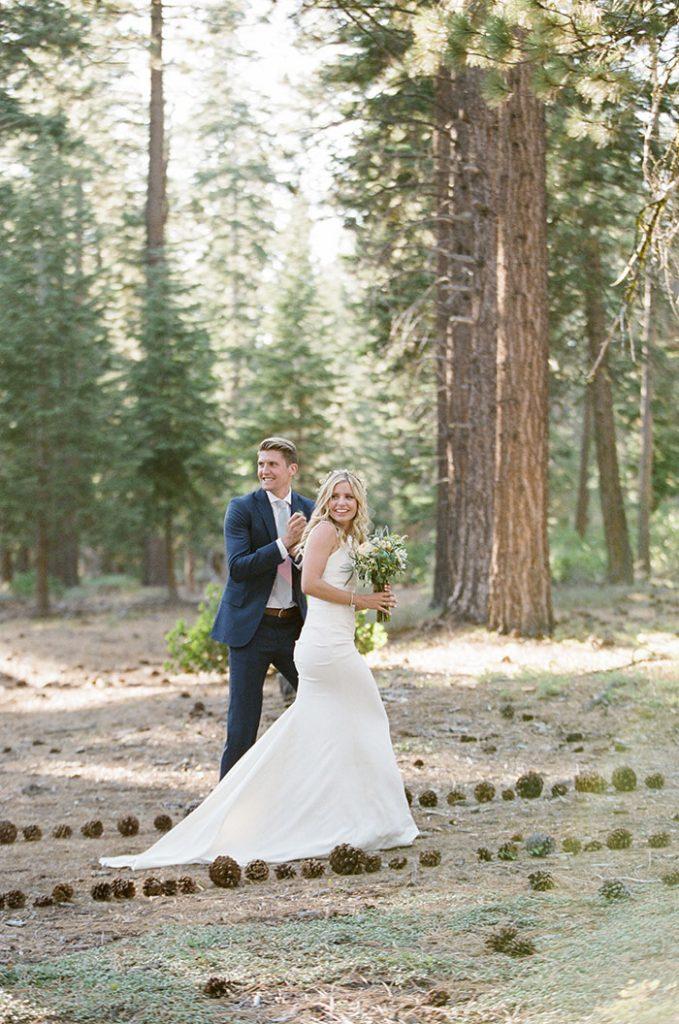 Bohemian Mountain Lake Tahoe Wedding