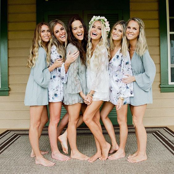 Bridal Robe To Get Ready In: Rompers Are The New Getting Ready Robe