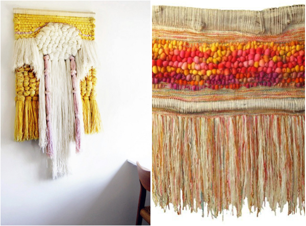 fiber art for weddings