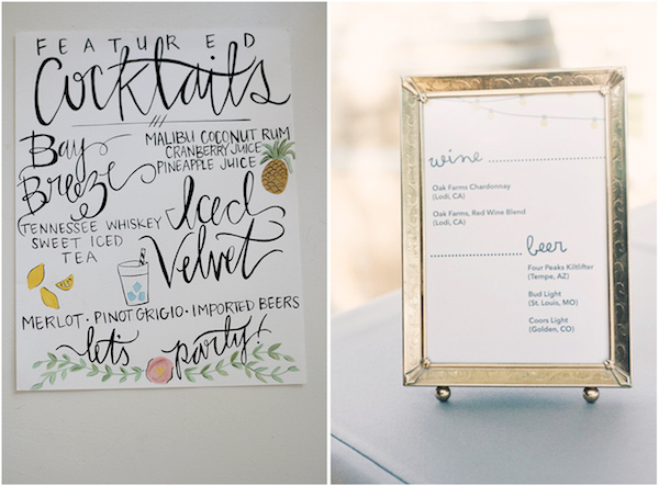 etsy wedding cocktail menu - Menu Design Ideas