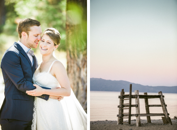 lakefront tahoe wedding