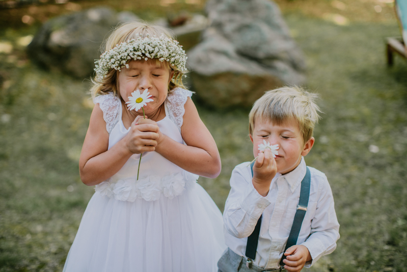 Lake Tahoe Flower Girl Ring BEarer