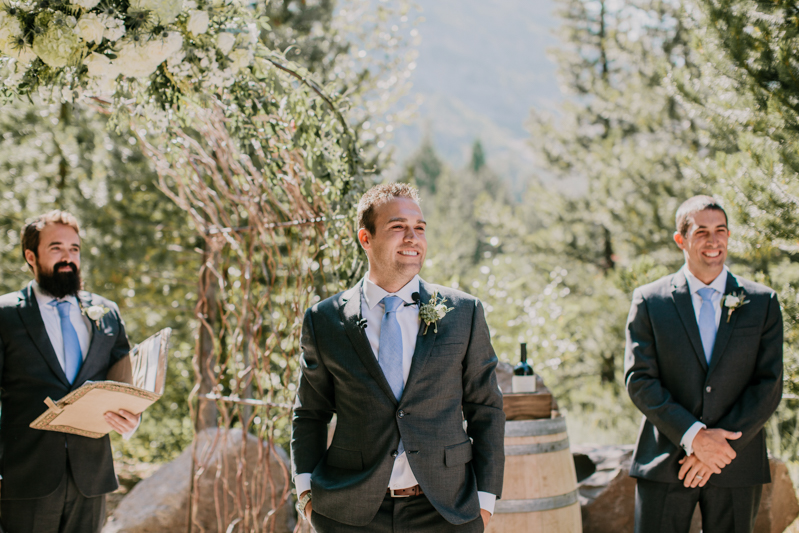 PlumpJack Squaw Valley Wedding Ceremony