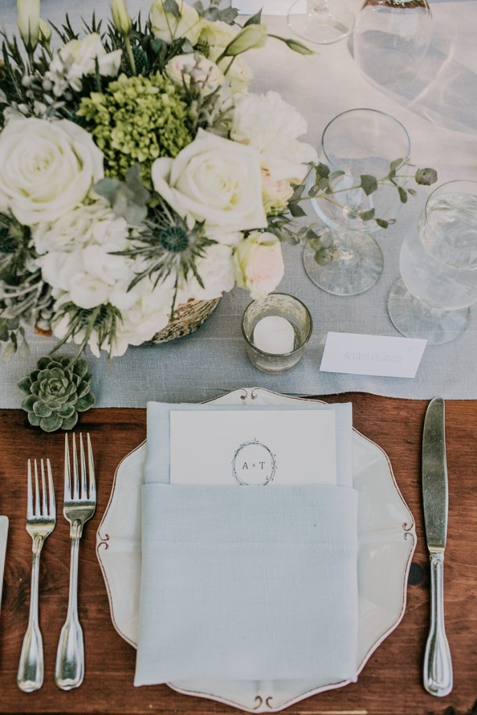 Lake Tahoe Wedding Table Ideas