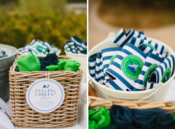 nautical stripe wedding