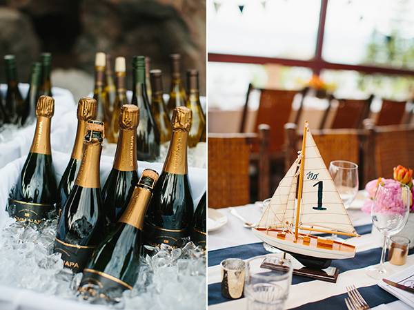 nautical lake tahoe wedding