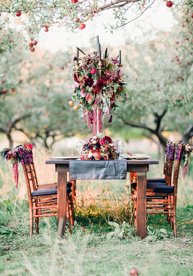 Moody Halloween Wedding Inspiration