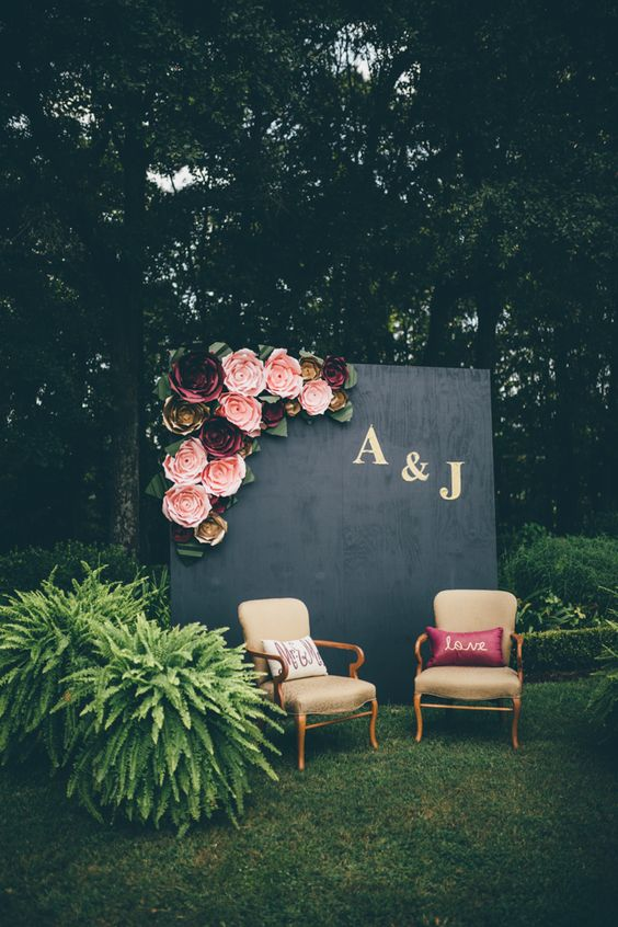 Black, Pink, and Gold Decor