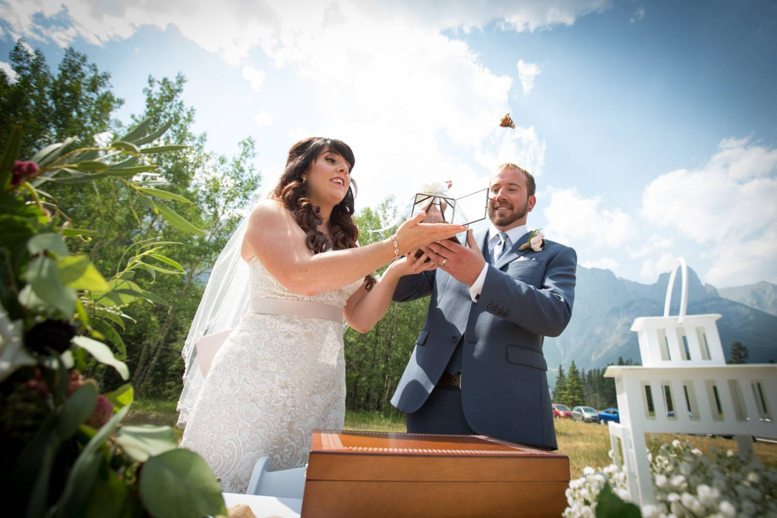The Perfect Rustic Wedding In Canmore Real