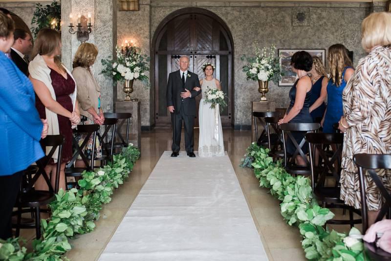 Indoor Ceremony Inspirations: Three Jaw Dropping Indoor Banff Wedding Ceremonies