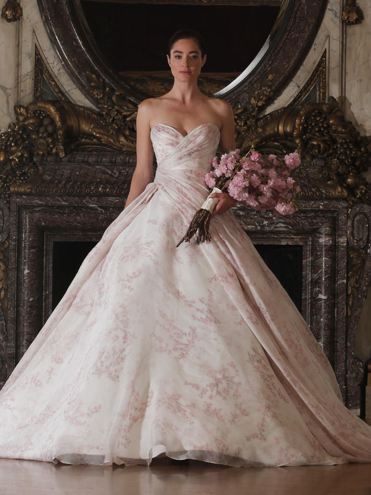 Wedding Gown Trend Alert: Florals