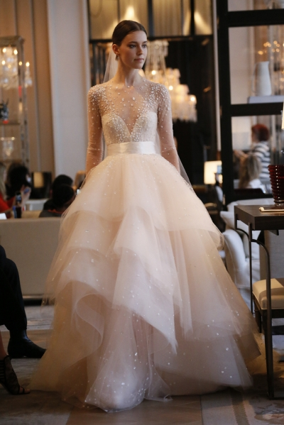 Luxurious Ball Gowns from Spring 2016 Bridal Fashion Week