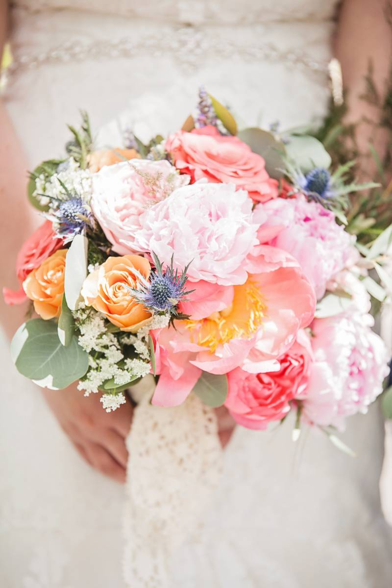 Peony Wedding Bouquet Inspiration   Banff