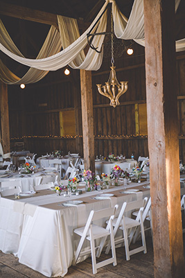 barn wedding, head table, kings table, draping, seating, reception ideas, seating layout, room layou