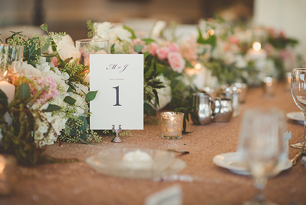 table number, wedding table centerpieces, floral, flowers