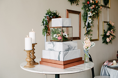 Wedding Scape Chic Amour With Romantic Rose Gold Copper