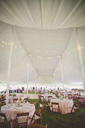 tent wedding, backyard wedding, outdoor wedding, elegant wedding