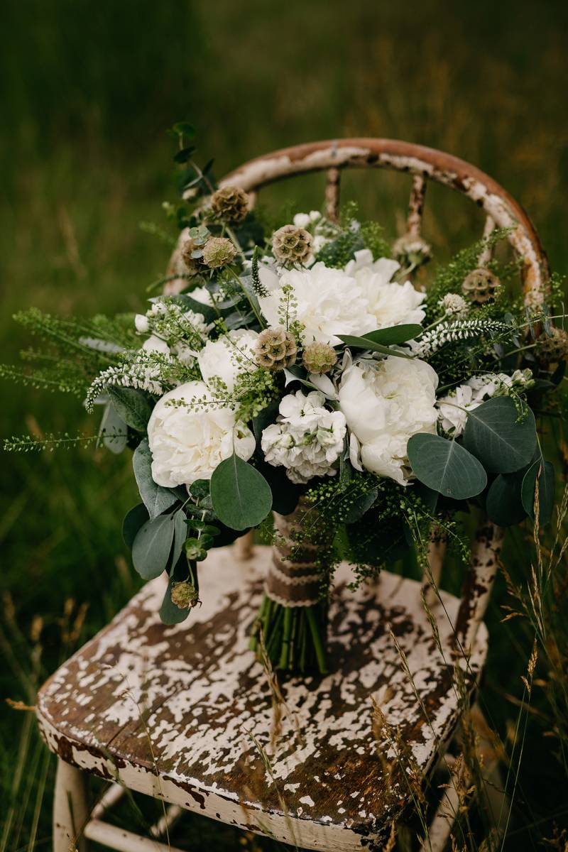 white bridal wedding bouquet flowers floral blooms wisconsin wedding florist