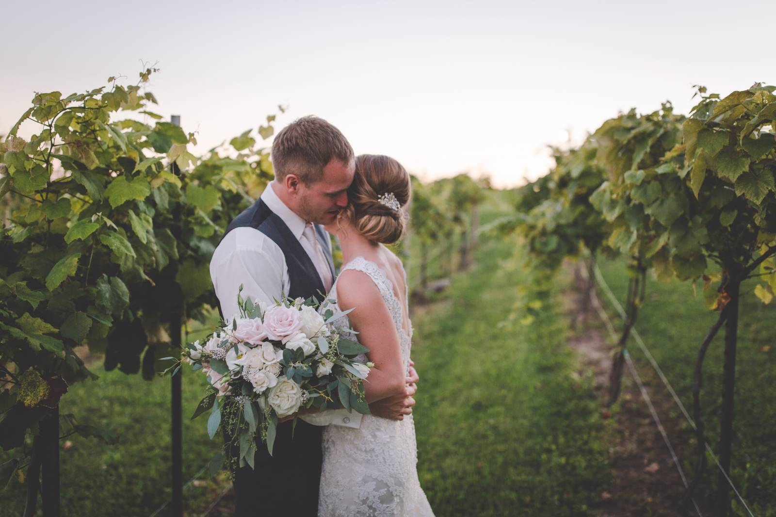 winery vineyard wedding