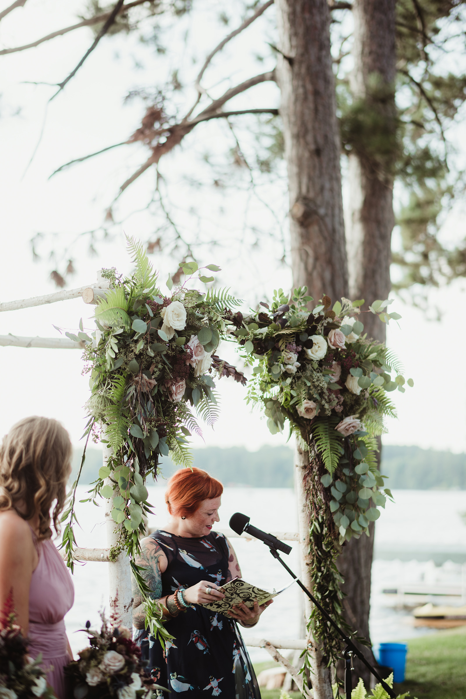 ceremony arch flowers, floral arch