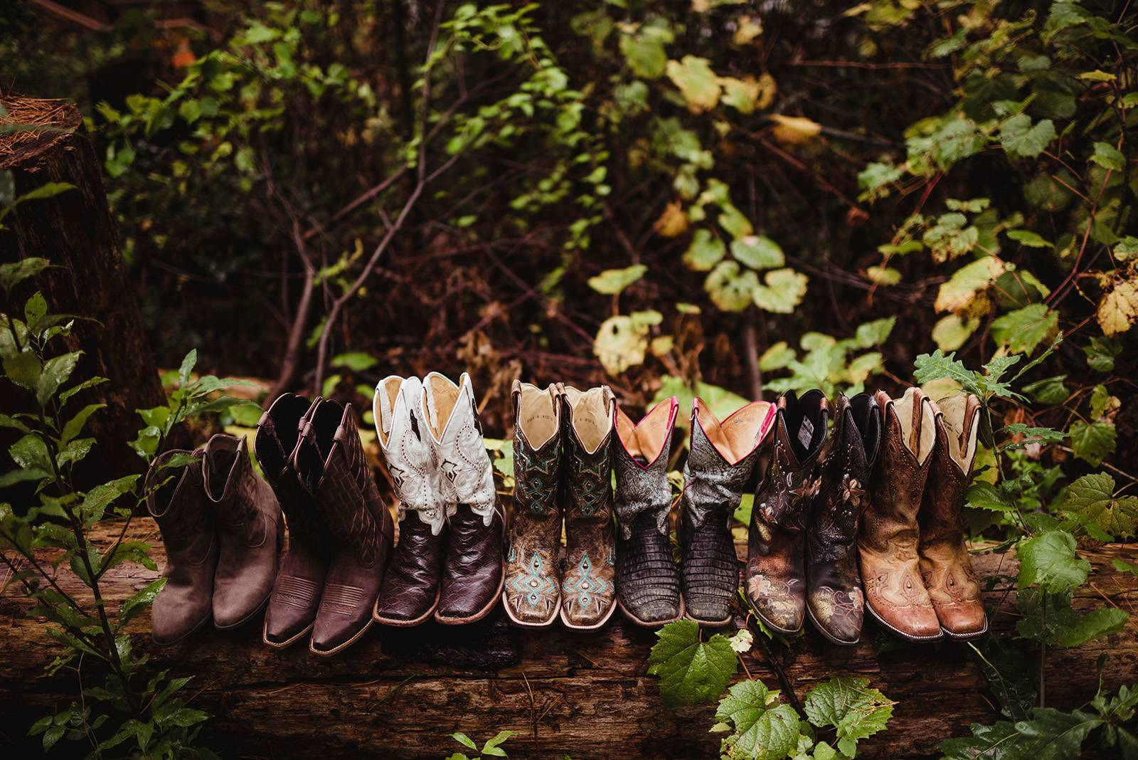 cowboy boots country western wedding