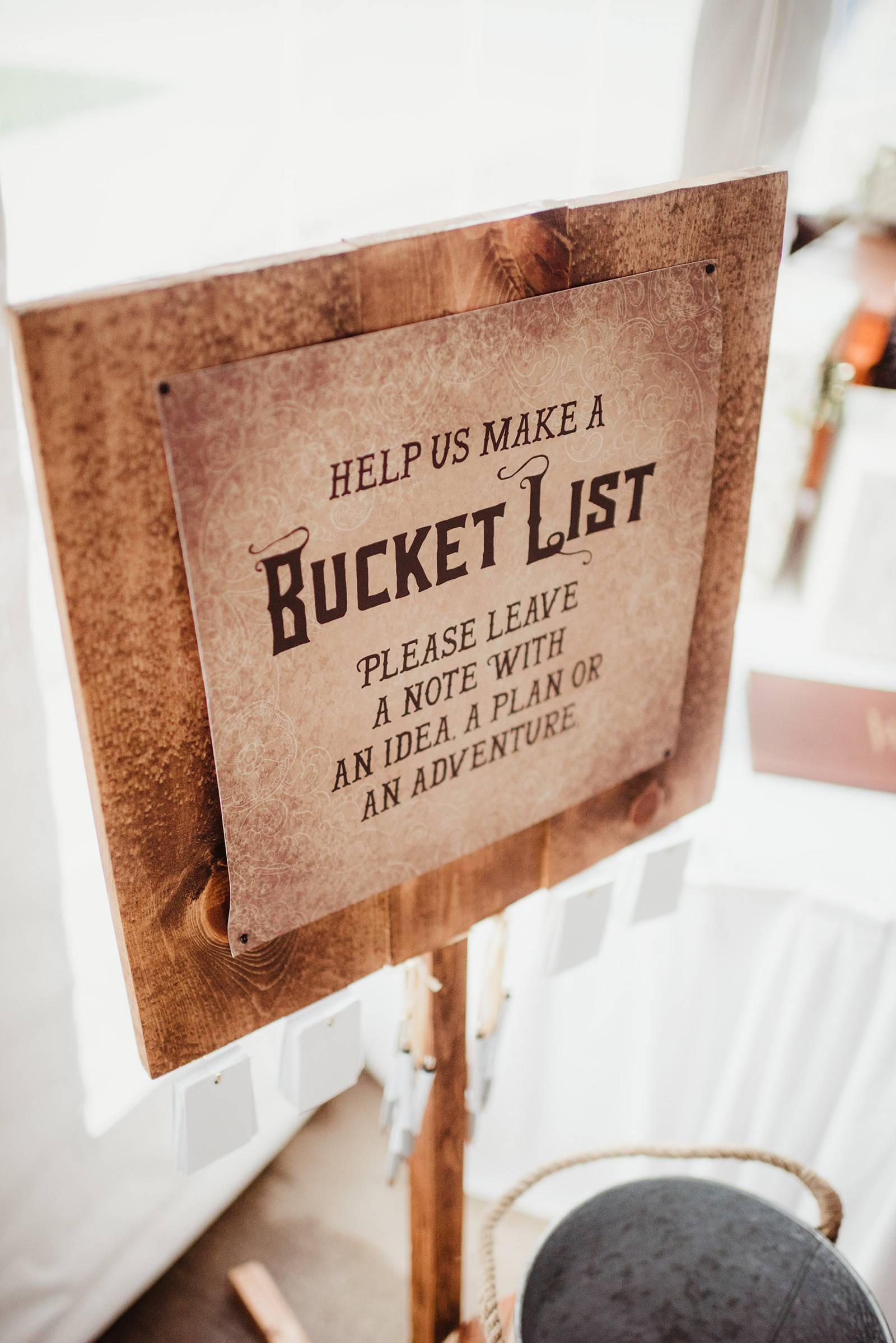 guest book alternative ideas bucket list messages