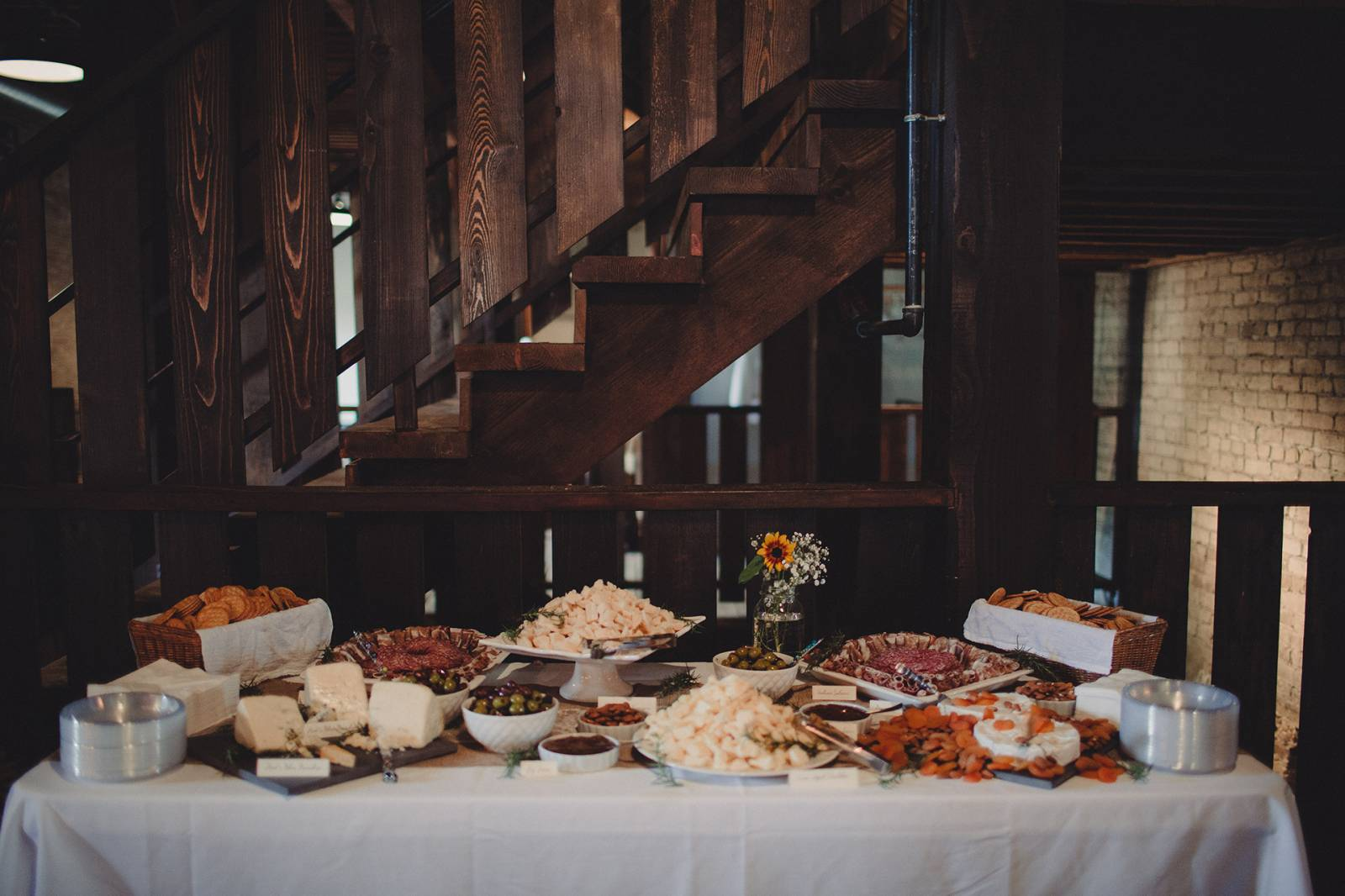 charcuterie station catering food ideas