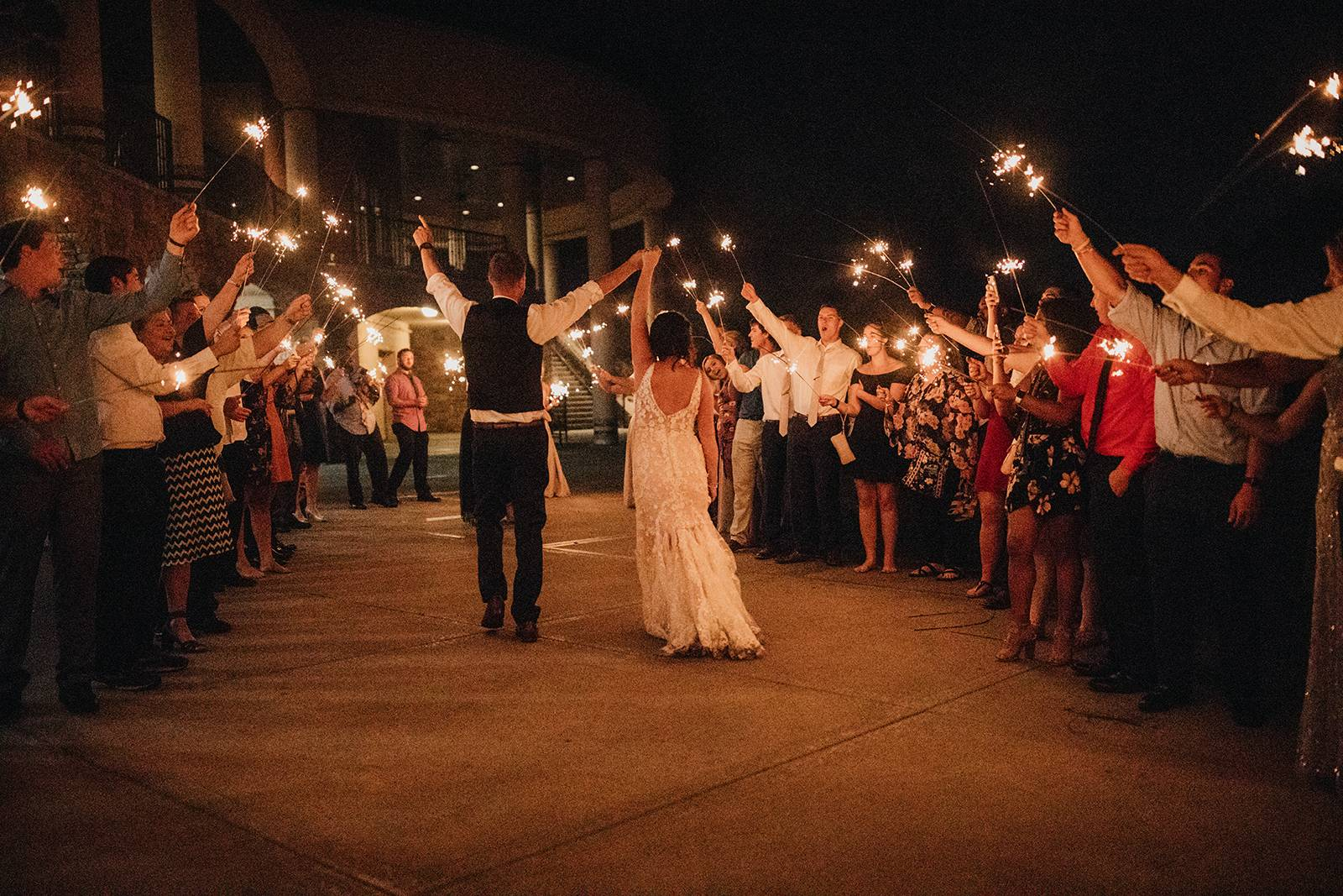 sparkler send off ideas