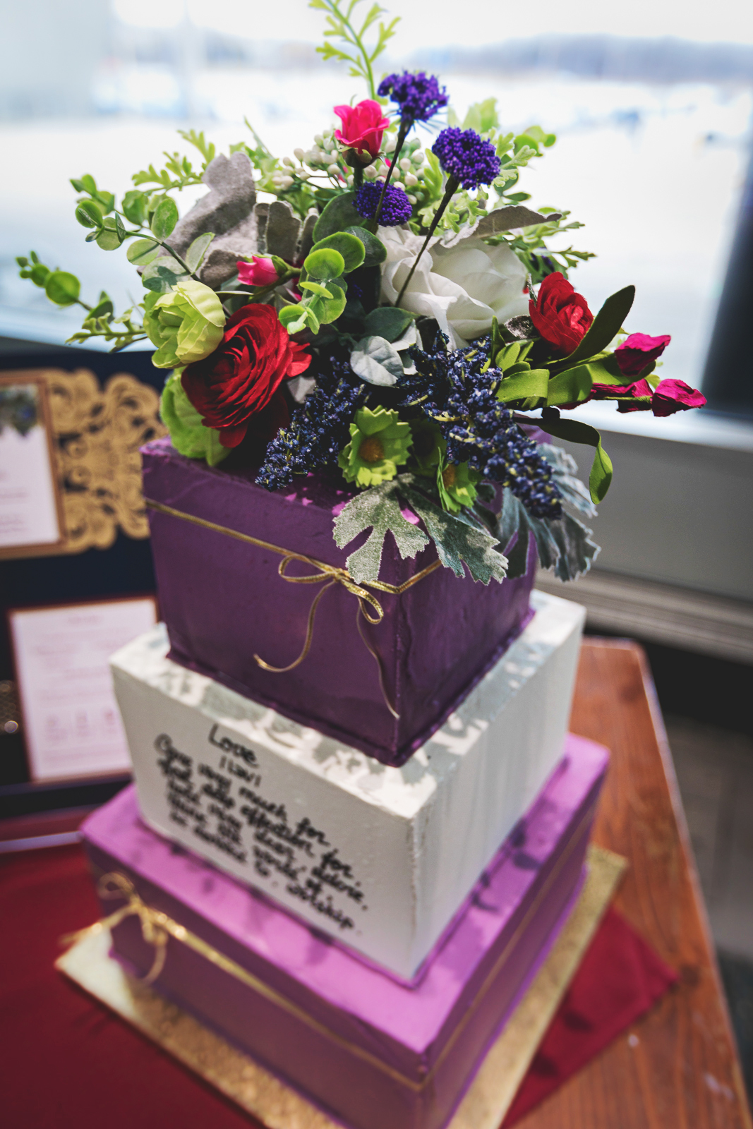 Marsala, amethyst, wedding inspiration, Madison, wine, cake