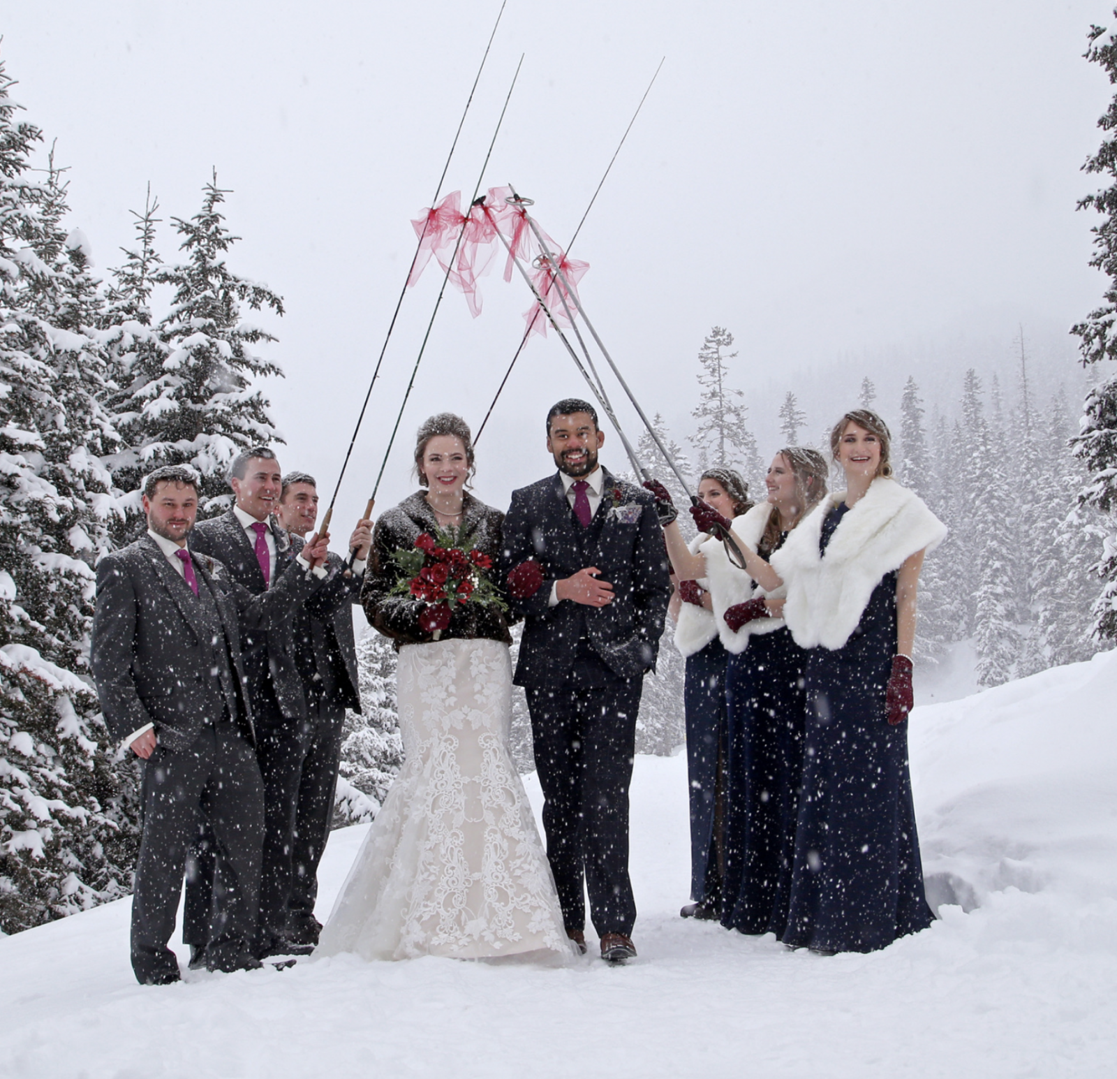 Fly fishing rods marries cross country ski poles