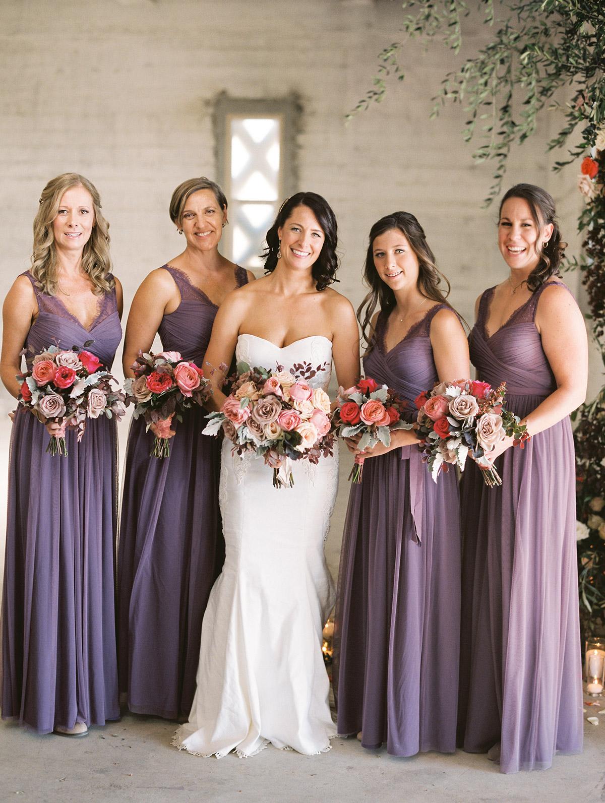 lilac bridesmaid and groom - HD1200×1593