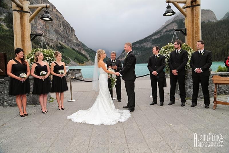 Fairmont Cau Lake Louise Favourite Outdoor Ceremony Locations Alberta Wedding
