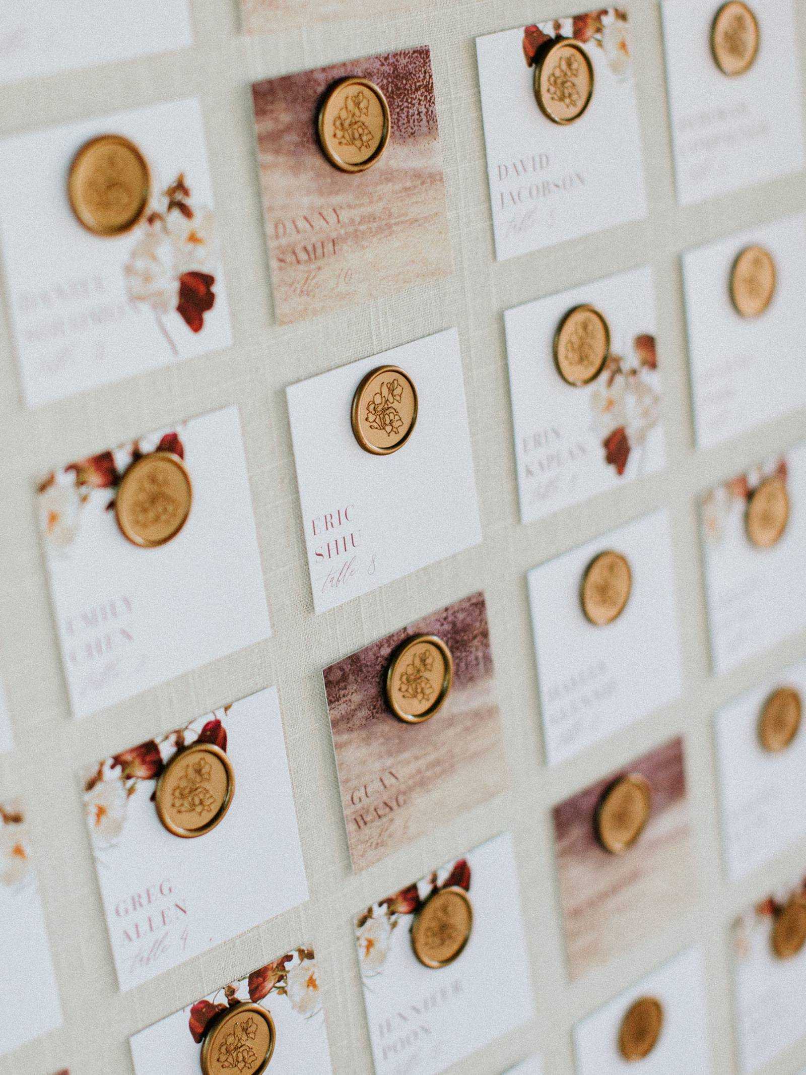 square escort cards