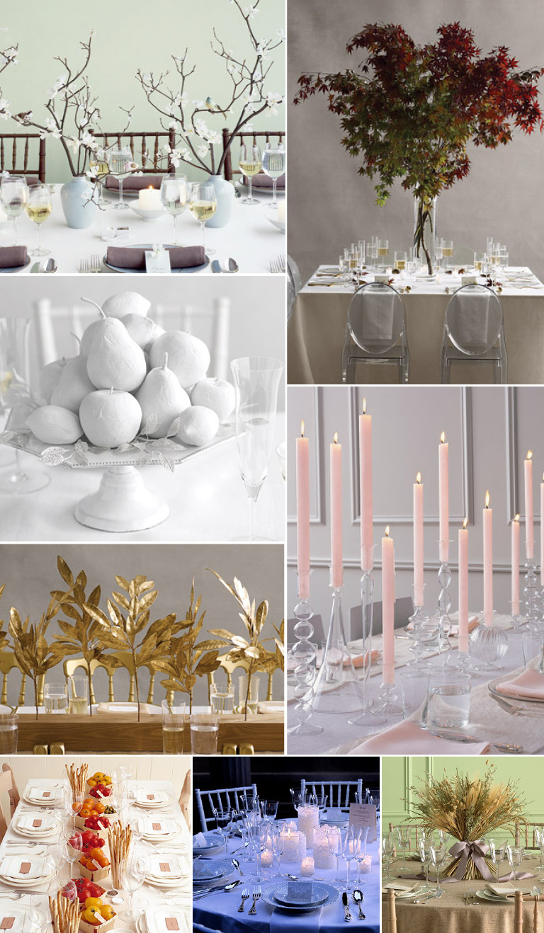 style amp trends non floral wedding centerpieces part i