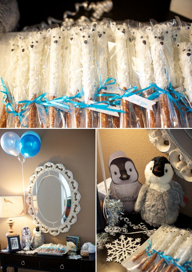 Winter Animal Themed Baby Shower