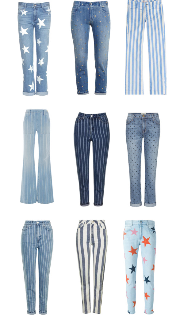 Jeans in Print
