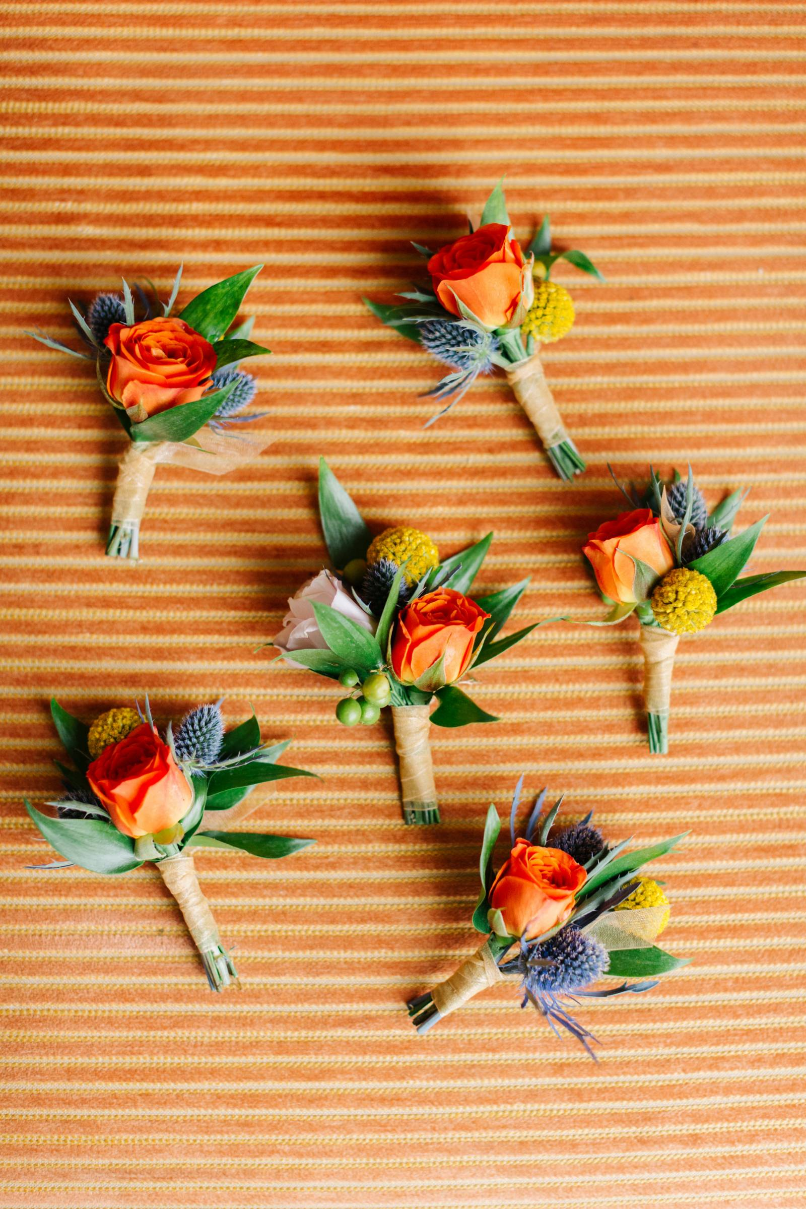 Colorful Boutonnier