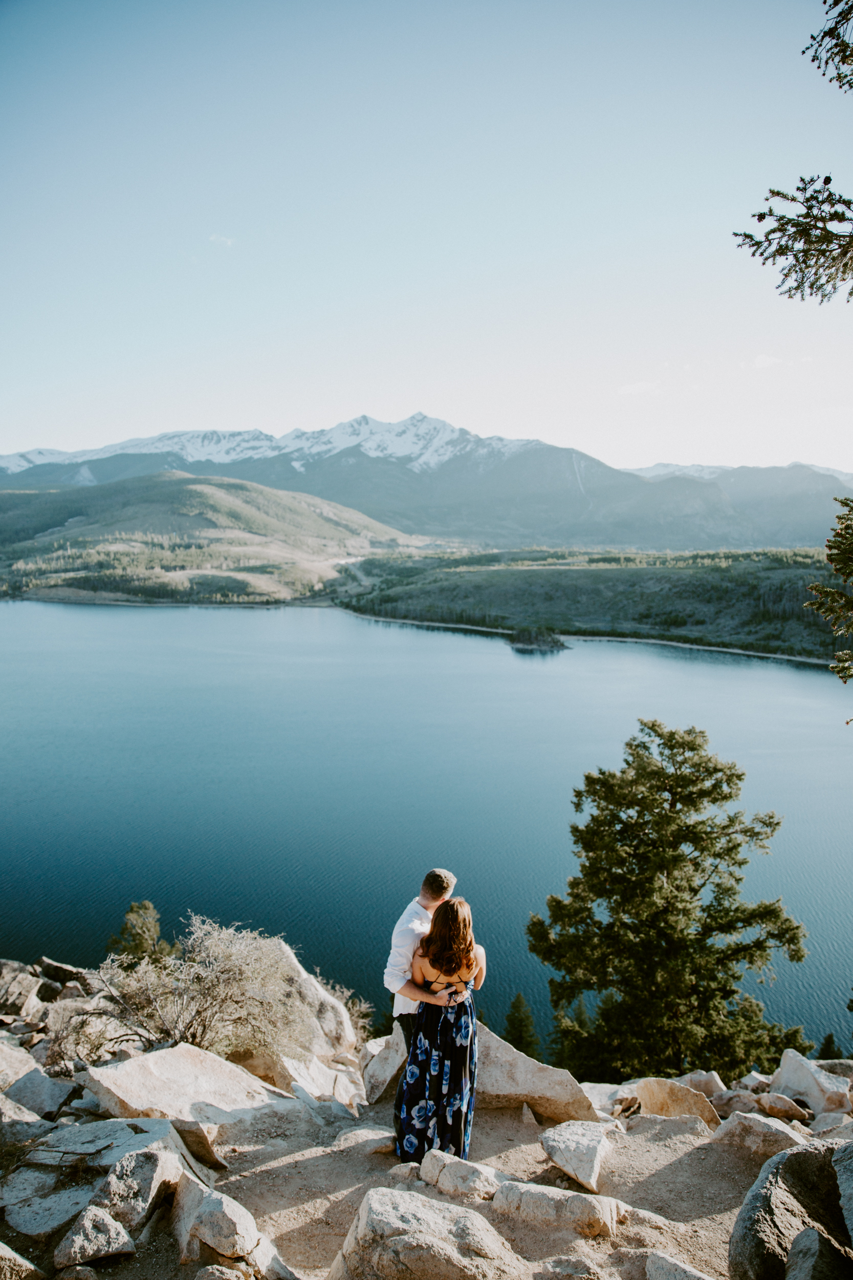 Mountain Engagement Shoot in Colorado
