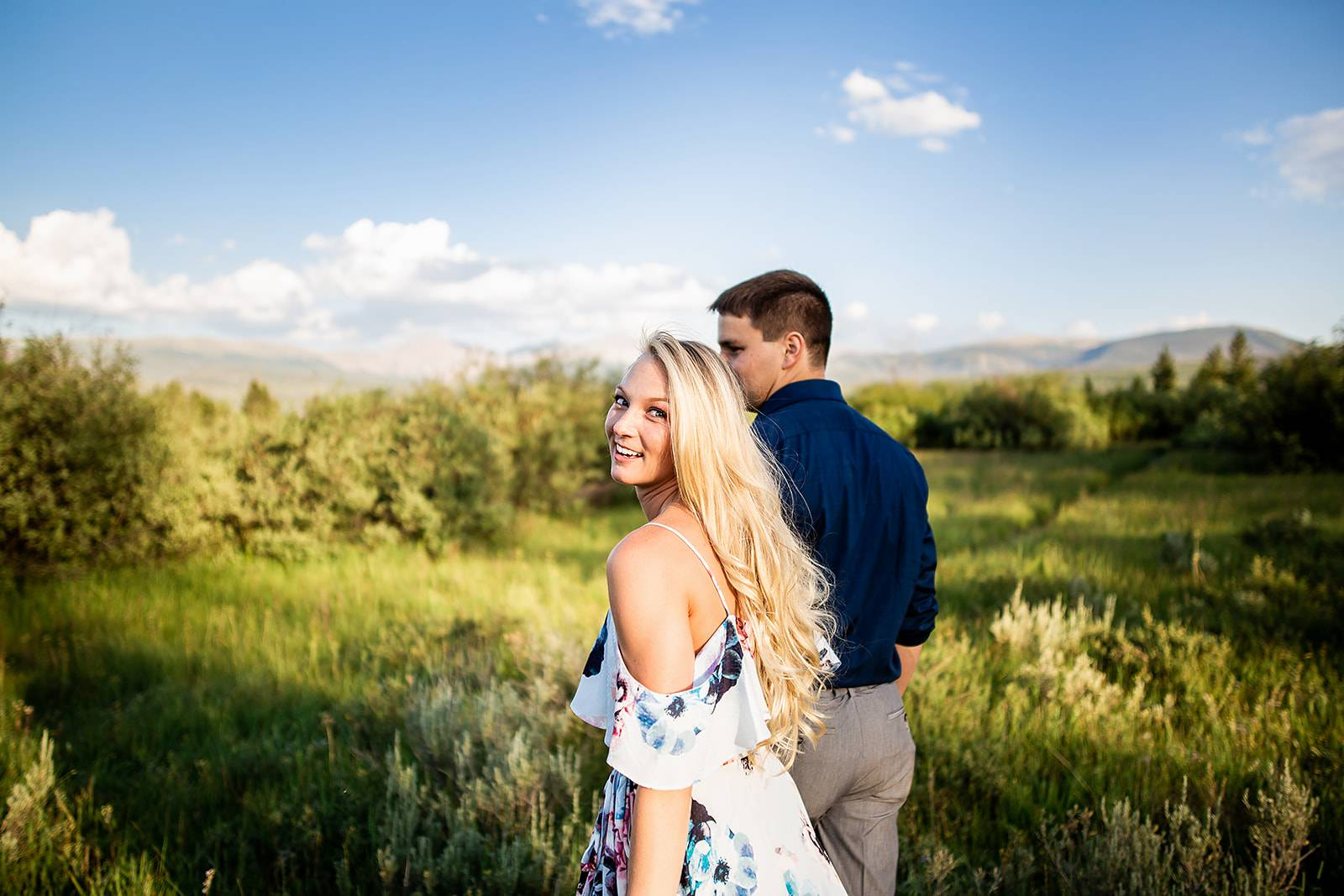 Colorado Mountain Engagement Shoot