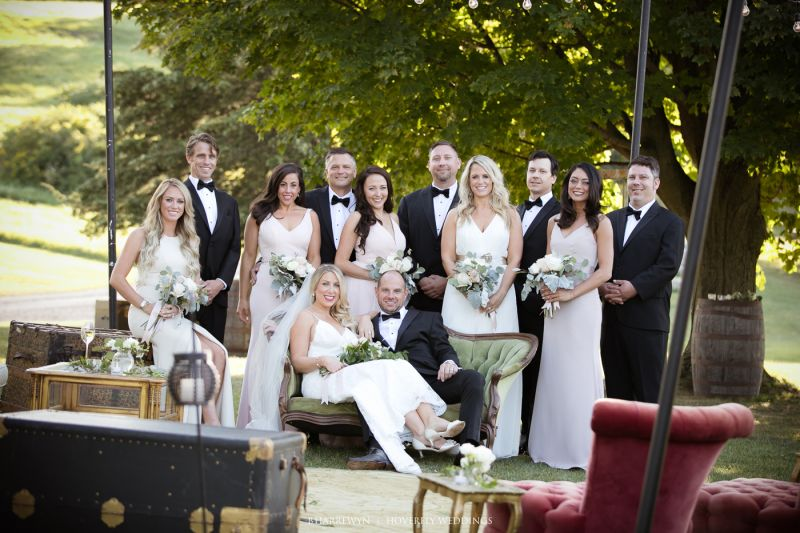 6746e3a95f1 Brittney and Steve  Black Tie Meets Rustic Chic in Vermont ...