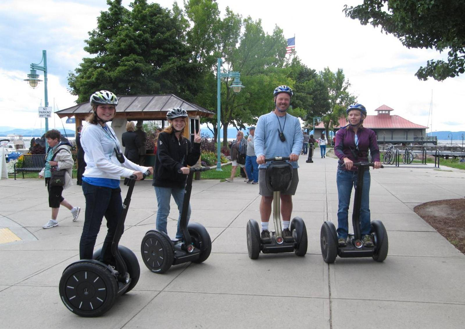 Burlington Segway tour Vermont - ideas for adventure microweddings in Vermont