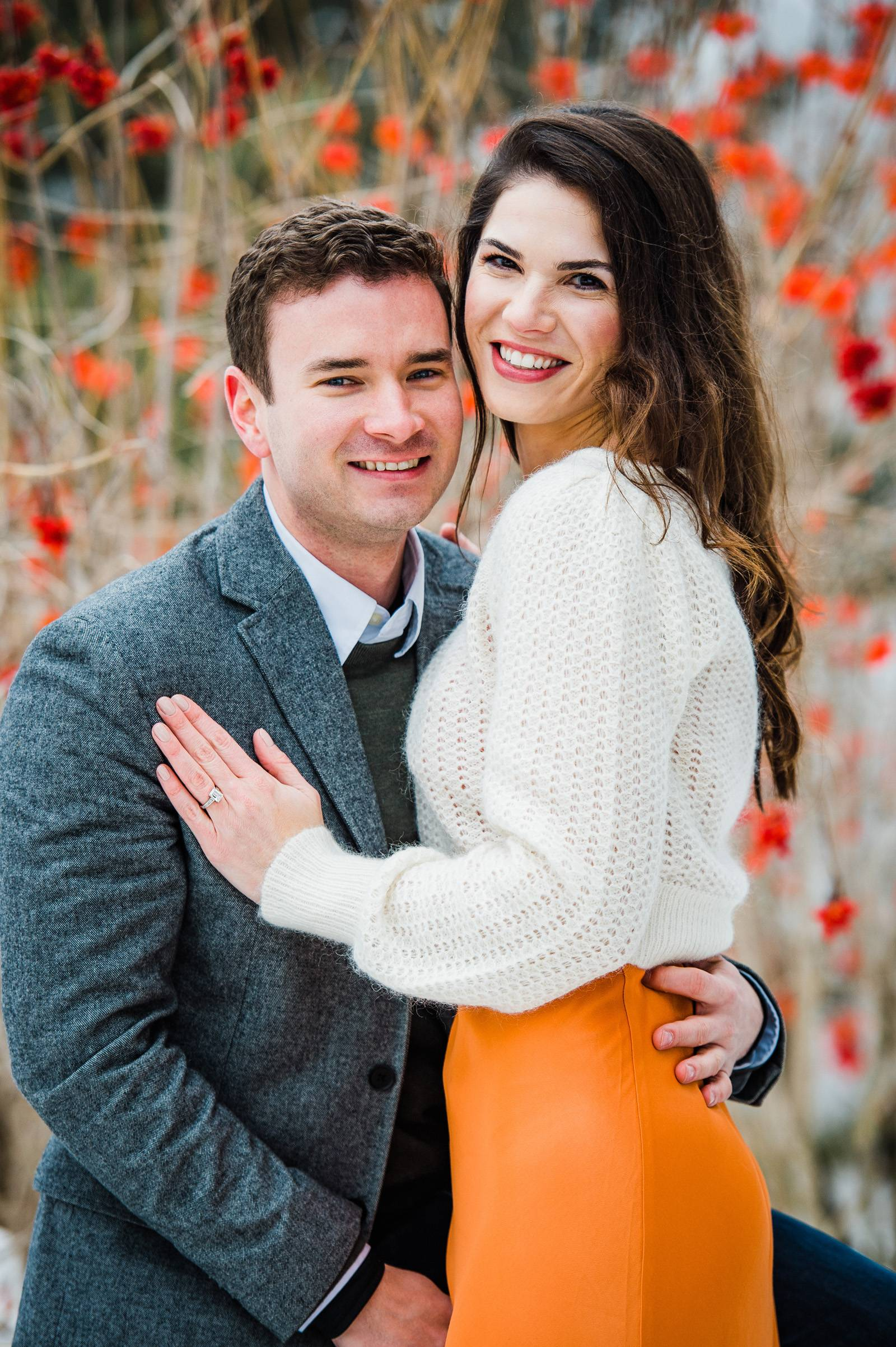Engagement photography pose ideas for couples
